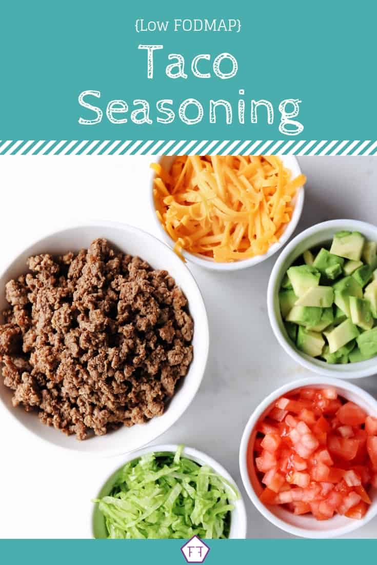 Low FODMAP Taco Seasoning (Green)