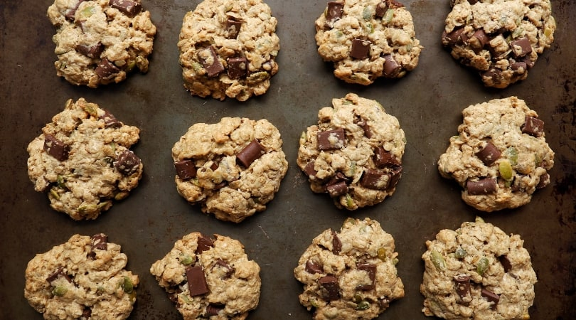 Low FODMAP Trail Mix Cookies