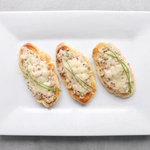 Low FODMAP Tuna Melts - Feature Image