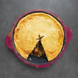Low FODMAP Vegetable Pie