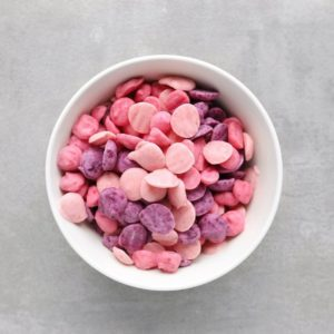 Low FODMAP yogurt drops in bowl - Feature Image
