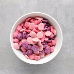 Low FODMAP yogurt drops in bowl - Feature Image