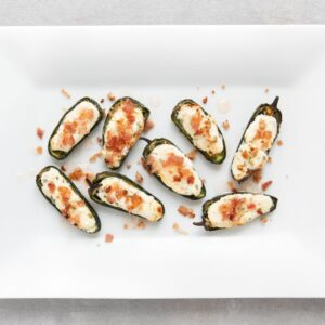 Low FODMAP Jalapeño Poppers