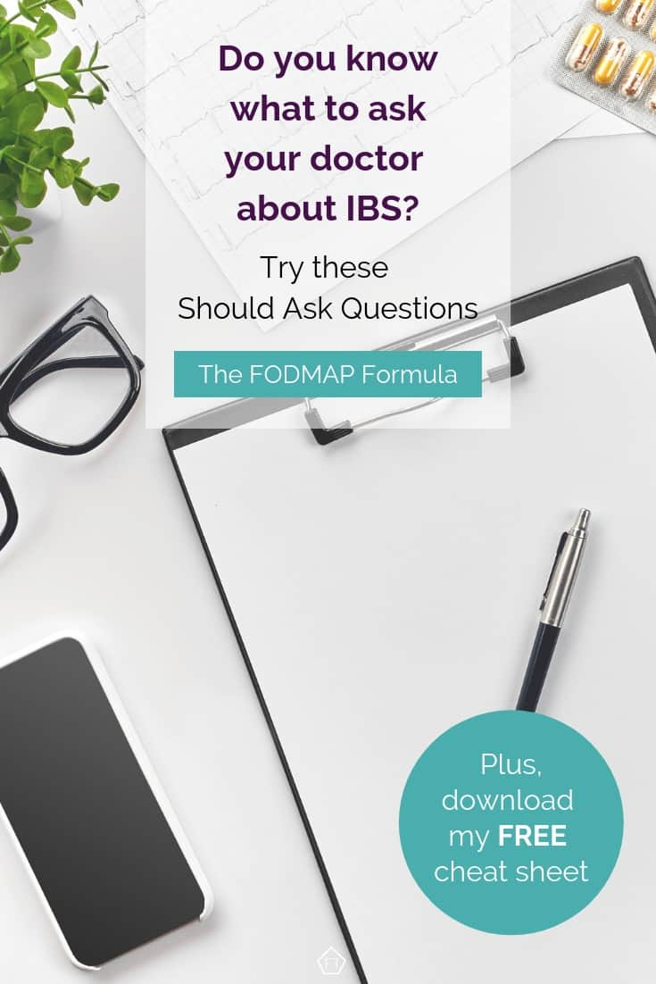Do you know what to ask your doctor about IBS? Try these should ask questions.