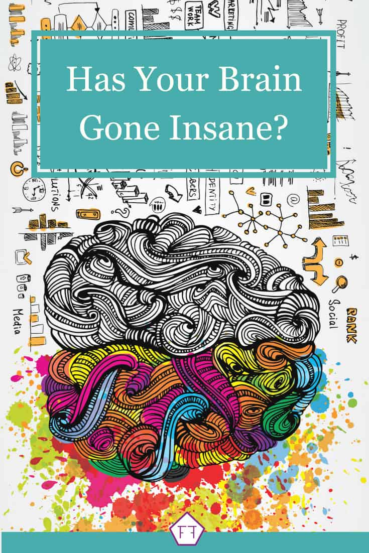 Has your brain gone insane? Check out this article on referred pain explaining how a simple mix up can cause IBS pain from the gut to end up in the neck, shoulders, or lower back