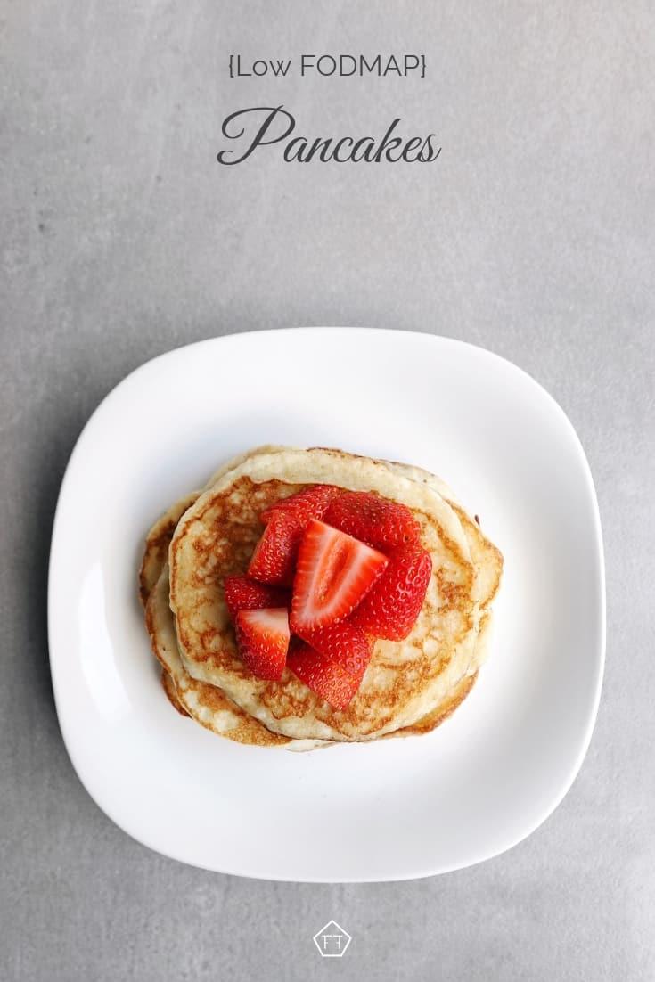 Low FODMAP Pancakes - Pinterest 2